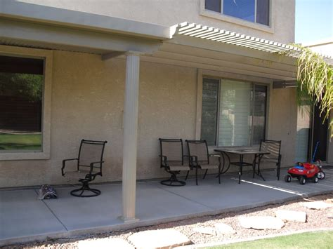 half covered patio alumawood patio cover half lattice half full cover yelp