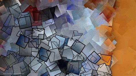 Jason Freedman Abstract Digital Art Orange Blue