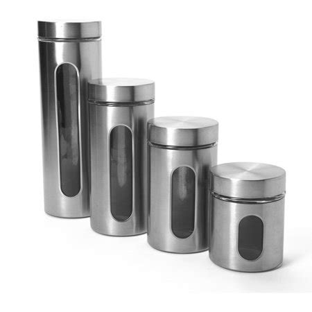 kitchen canister sets walmart anchor hocking 4 palladian canister set with window
