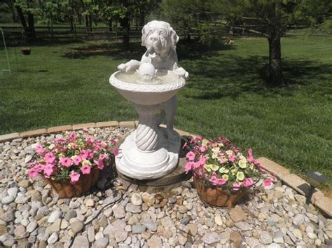 quenching  big thirst sculptural fountain ky design toscano