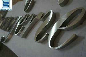 built up stainless steel lettersfabricated steel letters With stainless steel letters