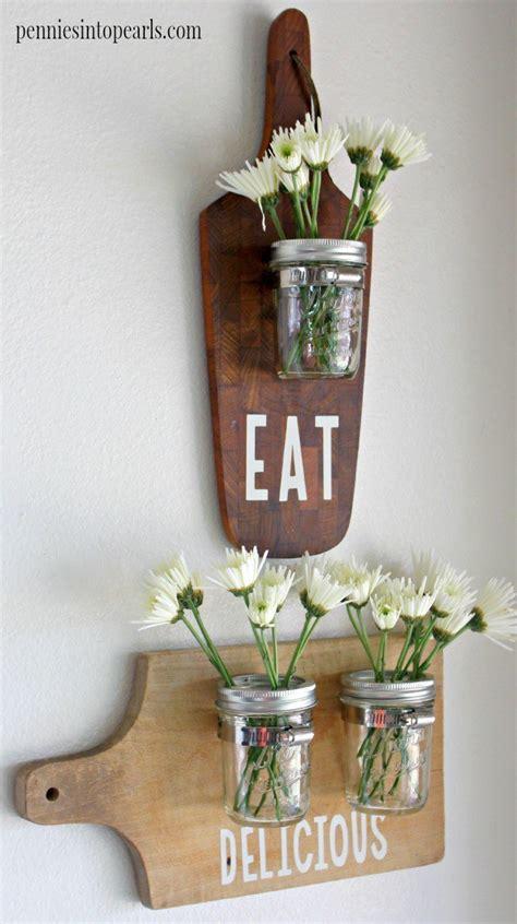 easy  cheap mason jar craft idea