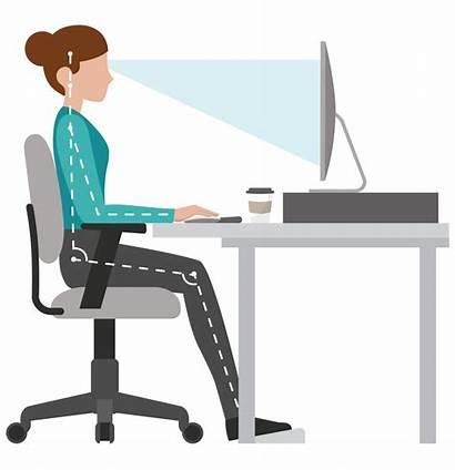 Desk Posture Ergonomic Workstation Setup Chair Tips