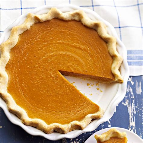 This recipe calls for canned pumpkin purée. Our Best Traditional Pumpkin Pie Recipe - EatingWell