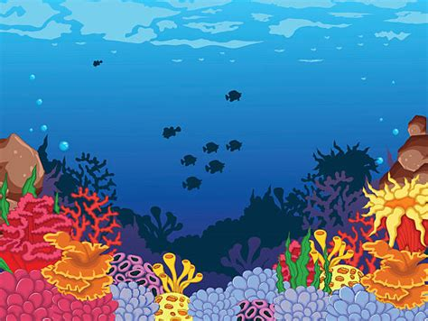 Underwater Clipart Coral Reef Clipart Underwater Pencil And In Color Coral