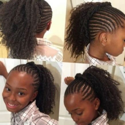 Tresse Africaine Pour Fille Tresse Fille Afro