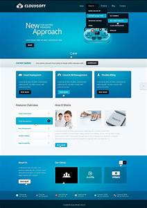Software Company Drupal Template  39724
