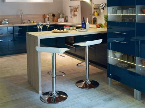 office de cuisine cuisine en l avec bar ides de cuisine moderne avec lot