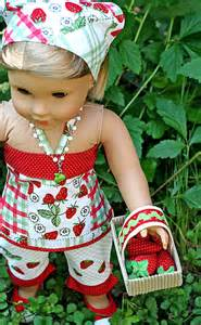 American Girl Strawberry Outfit