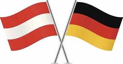 Austria Austrian German Flags Vector Clip Germany