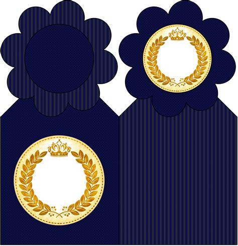kit festa completo coroa de principe azul marinho 2 134