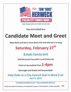 Meet and Greet Flyer - Tri-County Labor Club