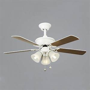 Inches retro ceiling fan quiet with lamp leaves