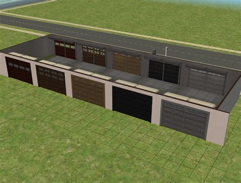 sims 3 garage mod the sims free rear entry garage backwards
