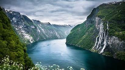Norway Fjords Sisters Seven Wallpapers 4k Author
