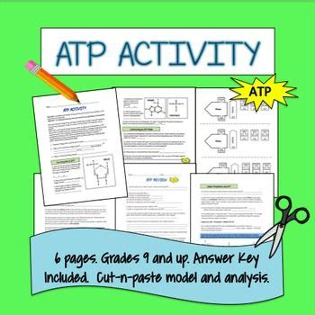 atp activity in 2018 science for secondary grades