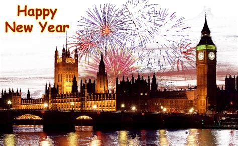 big ben  year fireworks  background image
