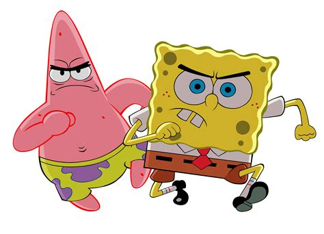 Spongebob & Patrick Battle It Out In The Next Splatfest