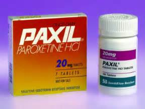 Paxil may be addicting Paroxetine