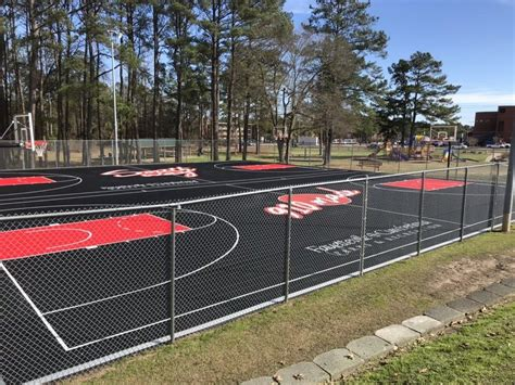 basketball courts  seabrook park  recognize dennis