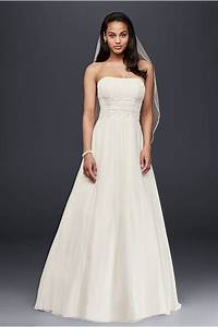 petite wedding dress with illusion lace neckline david39s With wedding dress petite