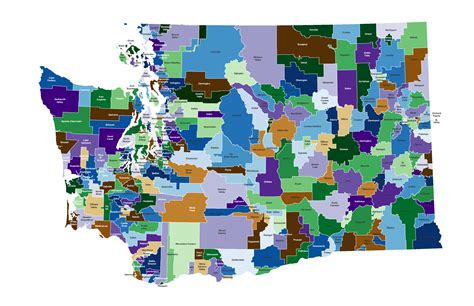 districts washington state map district community wa county spokane k12 truancy wsu edu subscription teams university board mandated cost