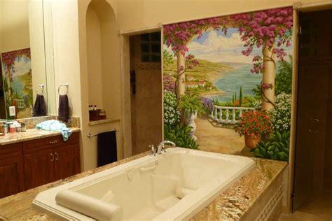 le carrelage mural auto adh 233 sif pour cr 233 er une fresque murale dans la salle de bain vonne