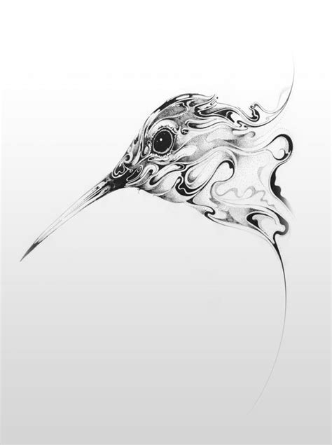 Swirling Pen and Ink Wildlife by Si Scott | Colossal
