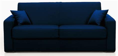 canape cuir bleu canapé convertible revêtement simili bleu marine stener