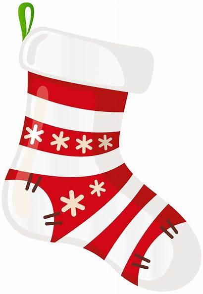 Stocking Clip Transparent Clipart Santa Sock Socks