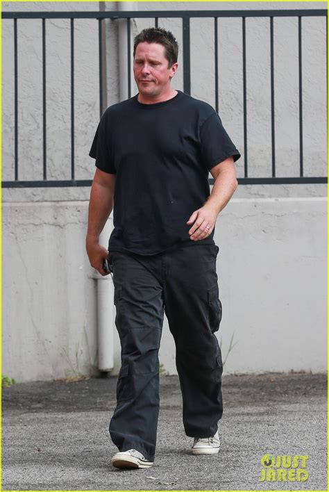 Christian Bale Grabs Lunch After Opening About Weight