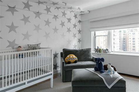 papier peint chambre garcon déco mur chambre bébé 50 idées charmantes