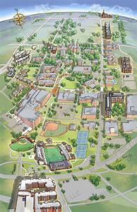 hampton university campus map, transportation, hampton ...