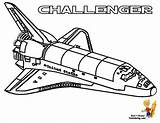 Space Shuttle Coloring Challenger Sheet Nasa Pages Colouring Printable Yescoloring Spectacular sketch template
