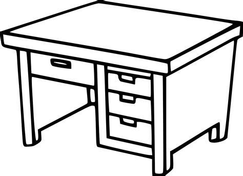 bureau table à dessin bureau a dessin dessin meuble coloriage un bureau