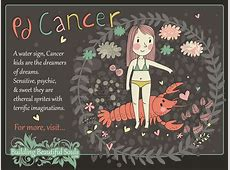 The Cancer Child Cancer Girl & Boy Traits & Personality