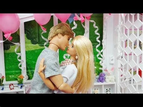 barbie ken morning routine surprise birthday cake boneka barbie ken la poup 233 e barbie de ken