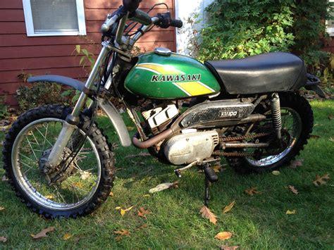 Kawasaki Km 100 by 1975 Kawasaki Km100 Motorcycle Mini Bike Dirt Bike