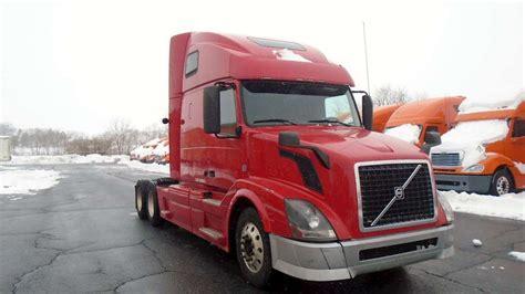 2013 volvo semi truck for sale 2013 volvo vnl64t670 sleeper semi truck for sale 395 452
