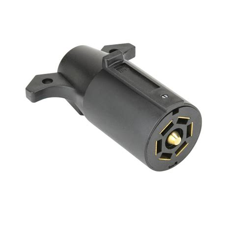 reese towpower 7 way trailer end connector 74127 the