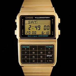 Montre Casio Homme Vintage : montre casio calculatrice vintage dor e casio dbc 611ge 1ef data bank boutique vintage ~ Medecine-chirurgie-esthetiques.com Avis de Voitures