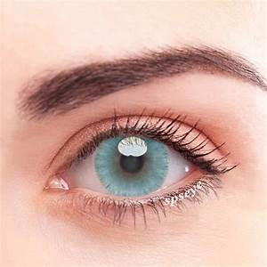 SPSeye Ice Dew Blue Colored Contact Lenses Light Blue ...