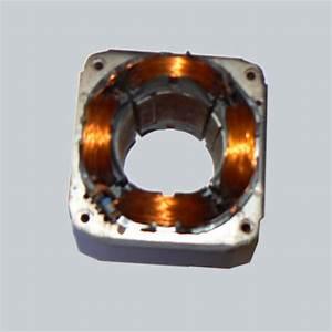 Shaded 4poles Motor Stator Coil Winding Needle Segmented