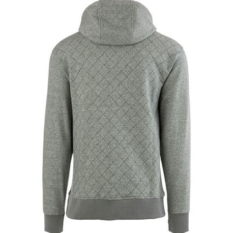 quilted hoodie mens saga quilted pullover hoodie s ebay