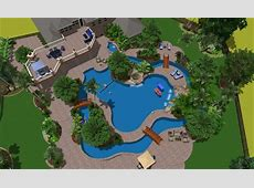 Lazy River Pool Support Structure Studios