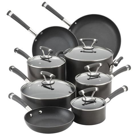 circulon cookware hard anodized nonstick piece contempo stick pieces non sets aluminum kitchen compare brands dining wayfair pots pans amazon