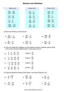 brüche kürzen mit variablen brüche bruchrechnen mathe 6 klasse