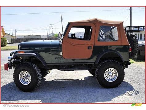 dark green jeep cj 1983 sherwood green metallic jeep cj 7 4x4 47767250 photo