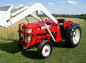 1957 Ih 350 Utility Tractor