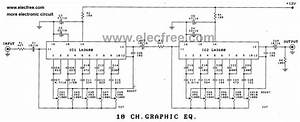 Wiring Machine  10 Band Equalizer Circuit Diagram